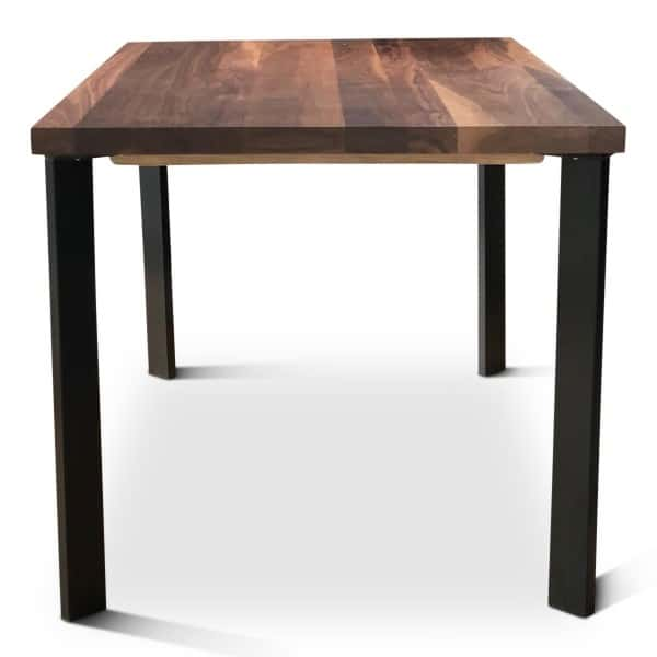 Florence Solid Walnut Dining Table front