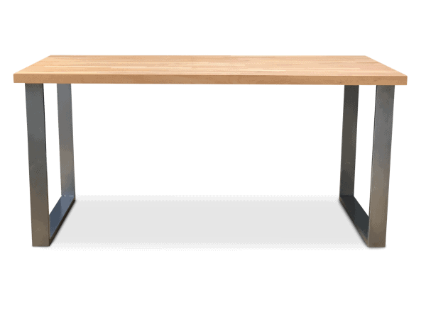 BOX Solid Beech Wood Dining Table Clear