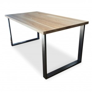 BOX clear Solid Ash Dining Table