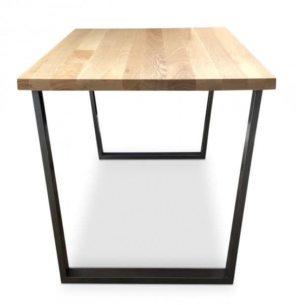 Clear Gothenburg Solid Ash Dining Table
